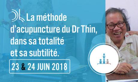 seminaire acupuncture méthode Thin